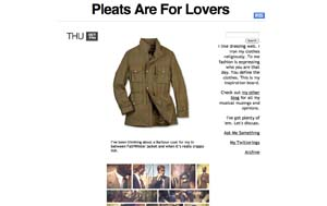 Pleats Are For Lovers