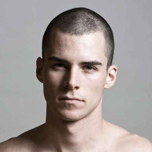 Gallery For > Buzz Cut Lengths Examples