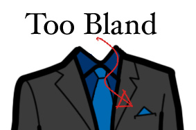 bland pocket square