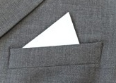 point fold pocket square