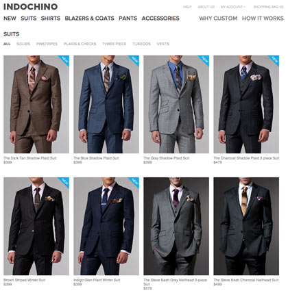 Indochino New Arrivals