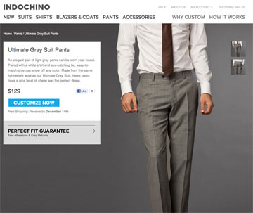 Light Grey Pants Indochino