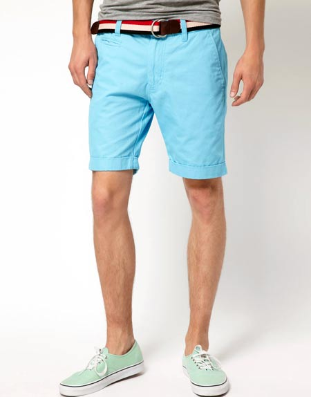 Selected Three Paris Chino Shorts from Asos