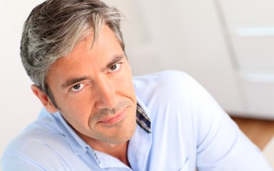 grey hair guide for men